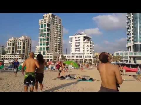טילים בחוף תל אביב