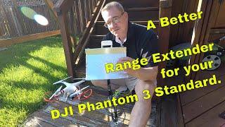 Easy DIY DJI Phantom 3 Standard RANGE EXTENDER!