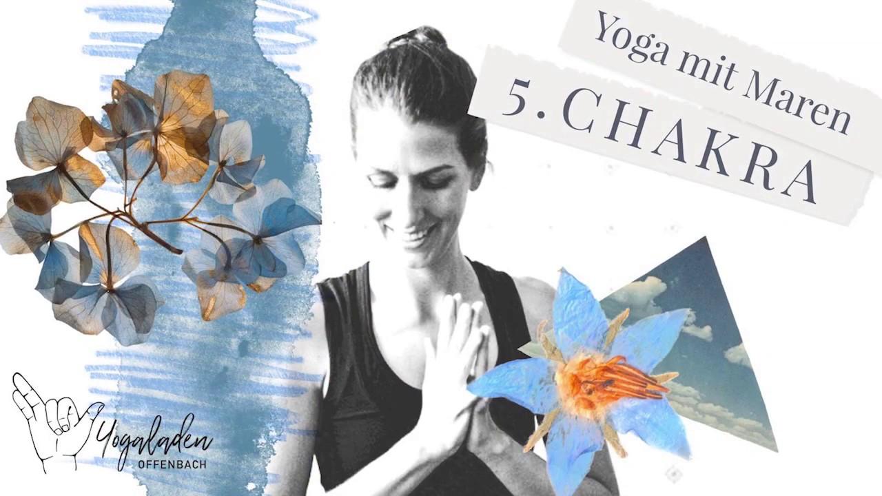 Yoga für mehr Offenheit | Halschakra | Vishuddha Chakra | YLO Maren | 60 Min Yoga