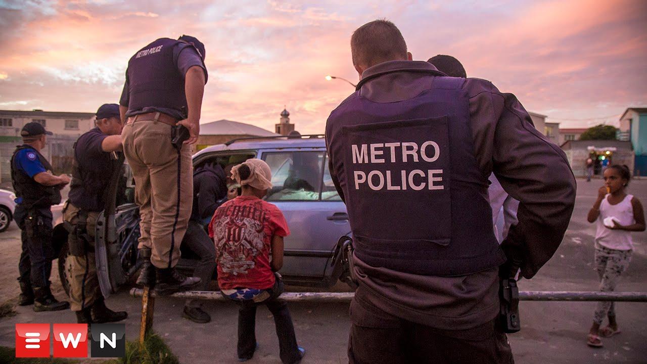Police blitz gang-ridden Manenberg