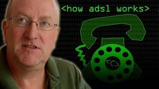 How Broadband ADSL Works - Computerphile