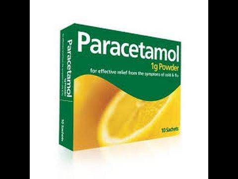 Опасность передозировки парацетамолом