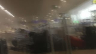 Raw: Inside Belgium Airport After Attack(The immediate aftermath of the explosion at the departure terminal at Brussels' Zavantem airport was caught on camera on Tuesday. (March 22) Subscribe for ..., 2016-03-22T13:02:38.000Z)