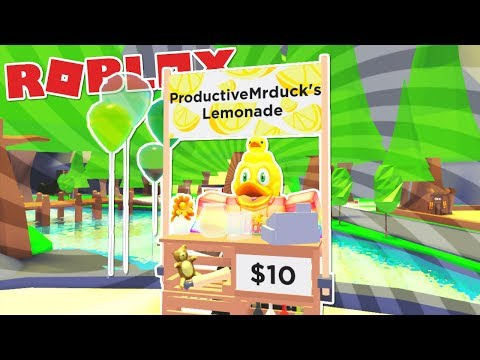 How To Make A Lemonade Stand In Roblox Adopt Me New Lemonade Stand In Roblox Adopt Me Youtube