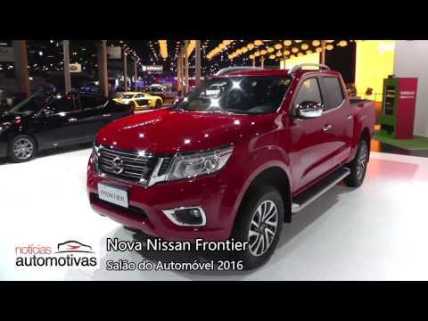 Nova Nissan Frontier 2017 - Salão do Automóvel 2016 - NoticiasAutomotivas.com.br