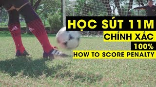 HOW TO SCORE GOALS BY PENALTY 11M FREEKICK | Tungage