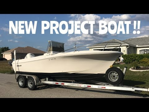 UPDATE VIDEO : NEW PROJECT BOAT -- WELLCRAFT Center Console V20 FISHERMAN -- DIY Boat Project