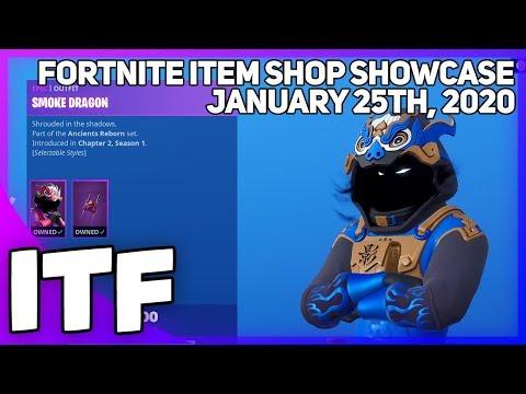 Fortnite Item Shop *NEW* SO MANY EDIT STYLES! [January 25th, 2020] (Fortnite Battle Royale)