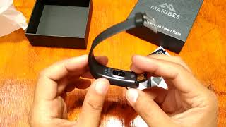 Baixar Makibes HR3 Smartband Review and Unboxing