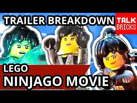 LEGO Ninjago Movie NYA Trailer Breakdown! ALL Easter Eggs! ELEMENTAL POWERS! Jay & Nya Romance?