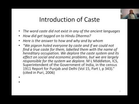The Caste - Social structures and social progress in Ancient India (Part 1/4)
