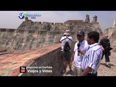 VIAJES Y VIDAS DVD 172, Cartagena de Indias, Castillo San Felipe de Barajas, Playas de Colombia HD