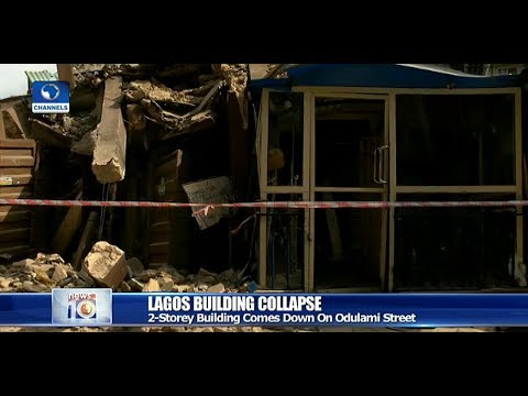 Another Building Collapses In Lagos Pt.2 25/03/19 |News@10|