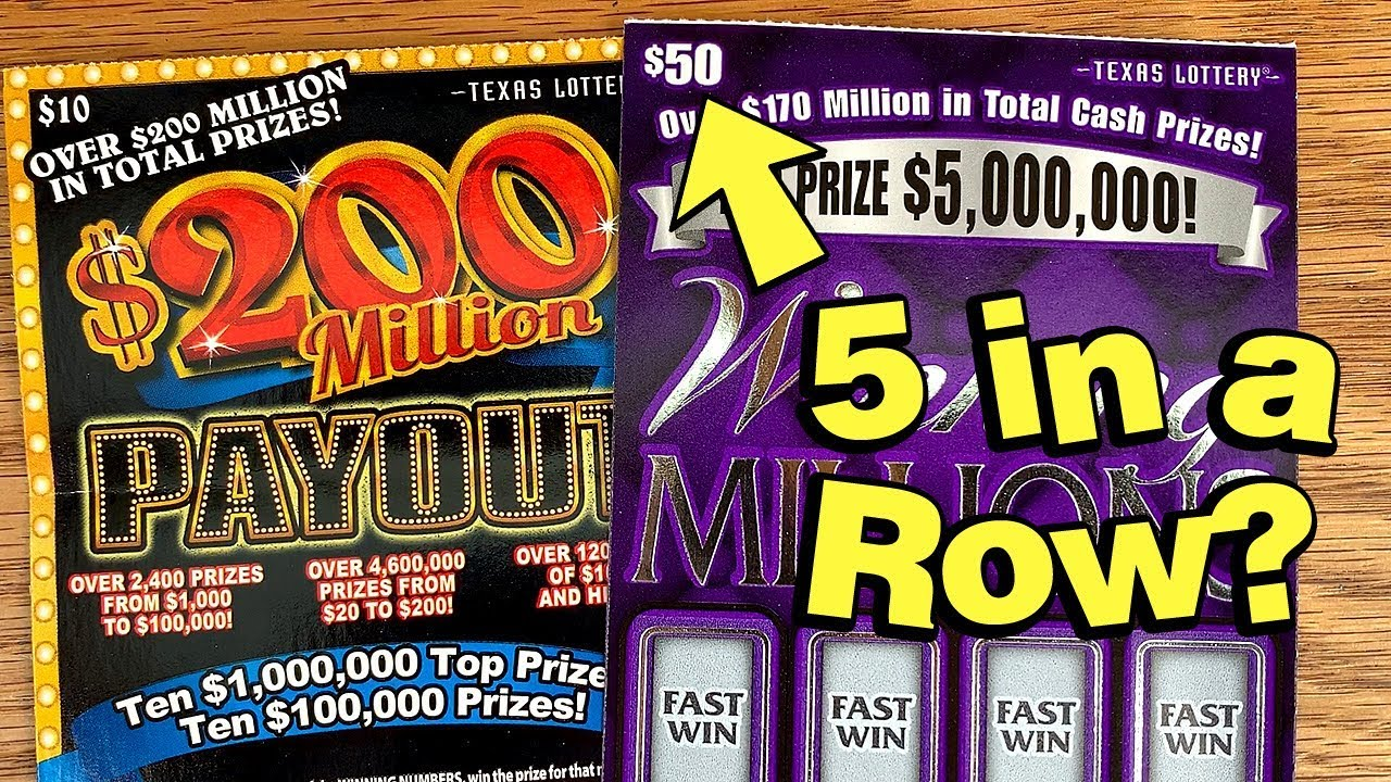 WIN! $50 Winning Millions + $200 Million Payout 💰 TEXAS LOTTERY Scratch  Offs