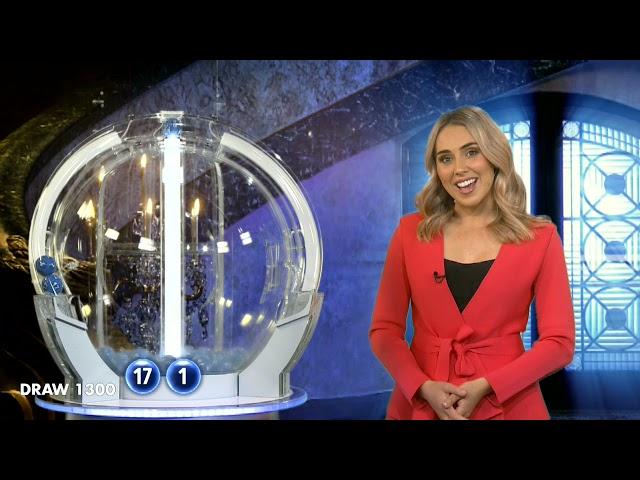 Powerball Results Draw 1300 | Thursday, 15 April 2021 | The Lott