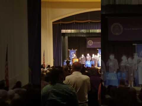 National Anthem Villa Graduation '18
