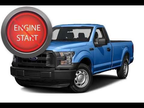 Ford F Series Pick Up Open And Start Push Button Start
