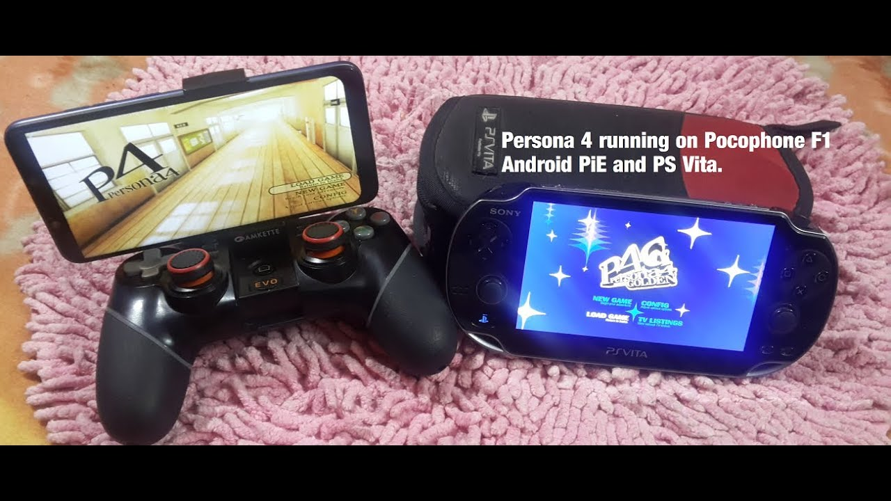 Pocophone F1 Persona 4 PS Vita & Damon PS2 pro emulator v 1 3 Gameplay  Android 9 Snapdragon 845