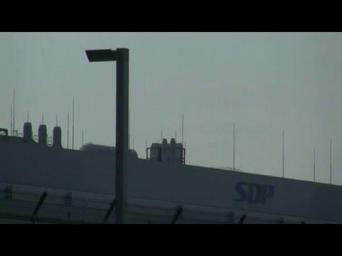 Huge Factory of SHARP Corporation in Takumi-cho,Sakai