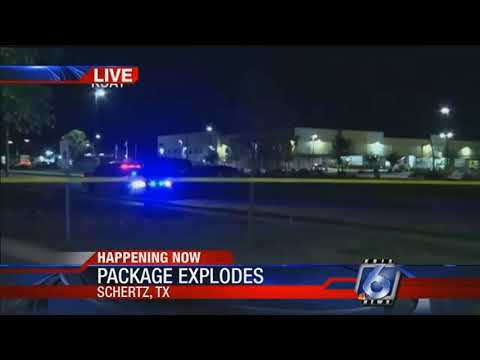 Package explodes at FedEx facility near San Antonio