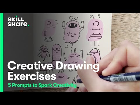 5 Drawing Exercises to Spark Your Creativity