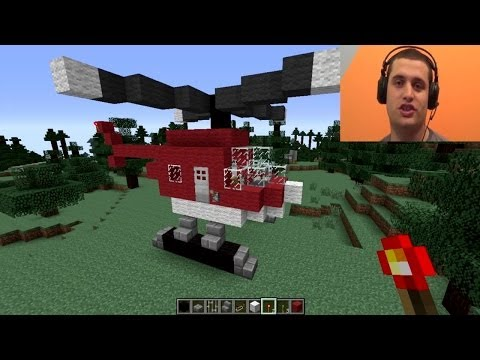Kako napraviti helikopter u Minecraftu??? [Srpski Gameplay] ☆ SerbianGamesBL ☆