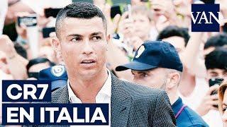 Cristiano Ronaldo se presenta con la Juventus