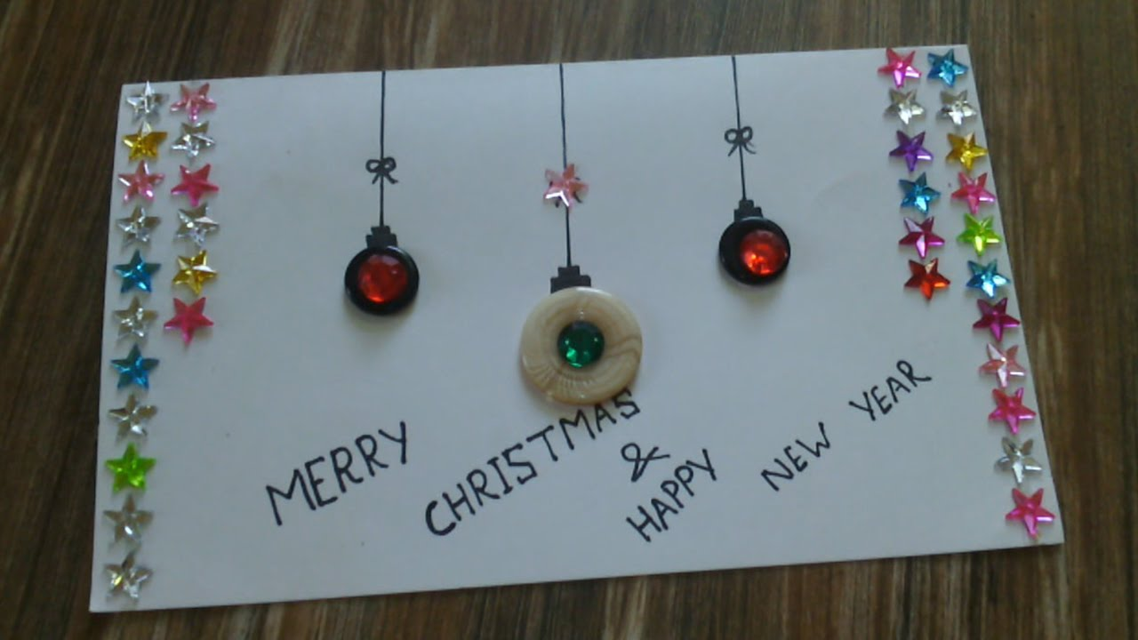 how to make an easy christmas card