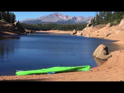 Kayaking Rampart Reservoir, Colorado. In My Perception Carolina 14.