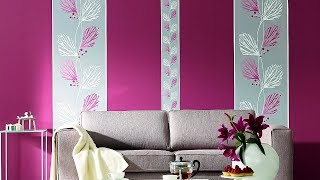 Combination Wallpaper | Inspiring Rooms With Wallpaper | Combining Paint and Wallpaper
