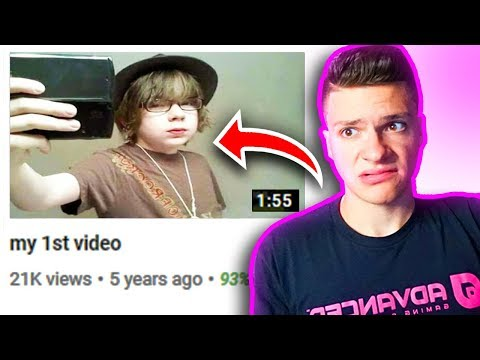 Reacting To My *DELETED* YouTube Videos! (CRINGE WORTHY)
