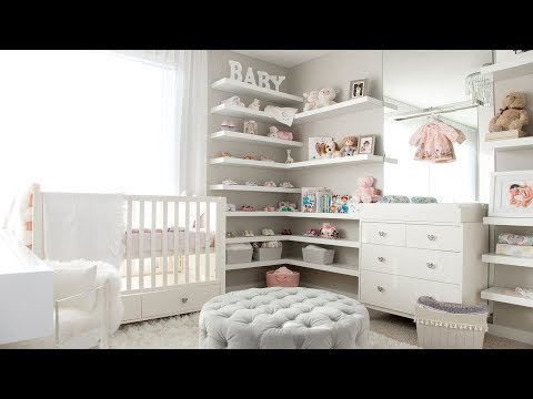 OUR BABY GIRL'S NURSERY TOUR!