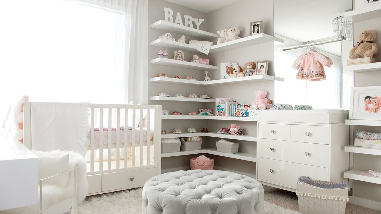 GIRL'S NURSERY TOUR!