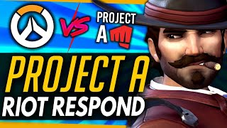 Overwatch | Riot Respond To Project A vs OW Comparisons! + More Overwatch 2 Leaks!