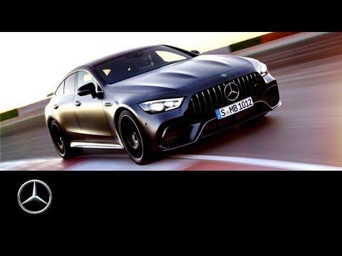 0 - Mercedes - AMG stellt den GT 4 -Türer Coupé vor
