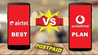 Best postpaid plans 2020  Airtel vs Vodafone (HINDI)