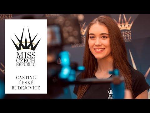 MISS CZECH REPUBLIC 2018 - Casting České Budějovice