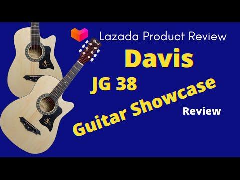 Davis JG38 Acoustic Guitar Showcase | Lazada Philippines