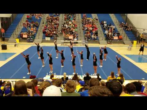 Brooke Point High School Conference 15 Cheer Competition 2016