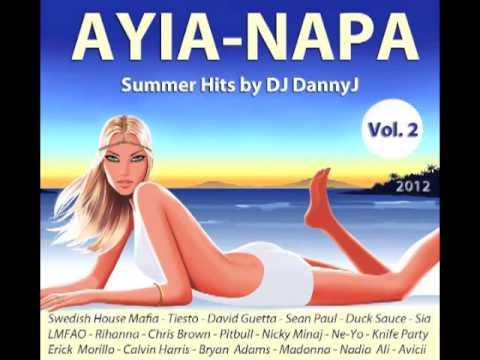AYIA NAPA SUMMER HITS 2012 CD VOL 2 MIXED BY DJ DANNY J - CYPRUS  - АЙЯ-НАПА