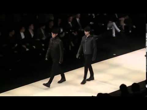 Мужская коллекция одежды Emporio Armani осень-зима 2015-2016