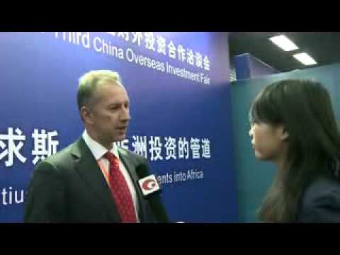 AfrAsia Bank at the China Overseas Investment Fair 2011 at Beijing