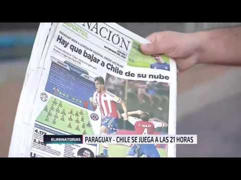 """Diario La Nación de Paraguay: """"Hay que bajar a Chile de la nube"""""""
