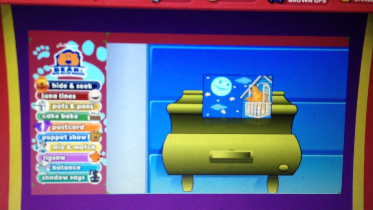 bear in the big blue house playhousedisney com youtube
