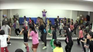 2012.03.19(Mon) M-Stars高学年練習風景 荒川区町屋を中心に活動するKid...