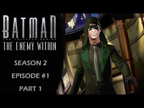 Batman: The Enemy Within (Telltale/Season 2) Episode 1: Gameplay Walkthrough Part 1
