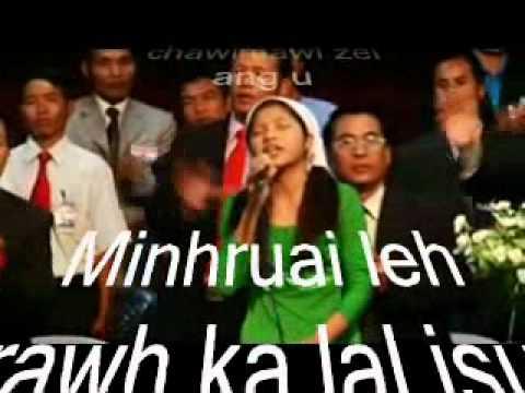Lalthansangi - Min Hruai Leh Rawh (Lyrics)