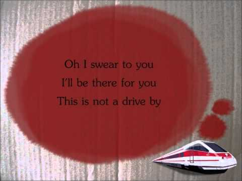 Train - Drive By (LYRICS) - YouTube