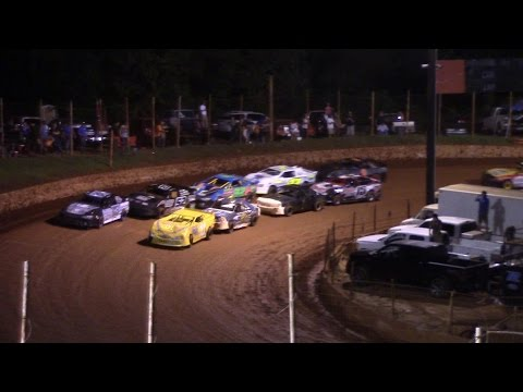 Winder Barrow Speedway Advanced Four Cylinders Feature 9/19/15
