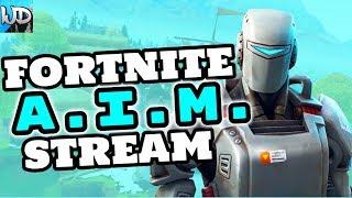 FORTNITE NEW *A.I.M. SKIN* ROAD TO 2K SUBS - FORTNITE THURSDAY